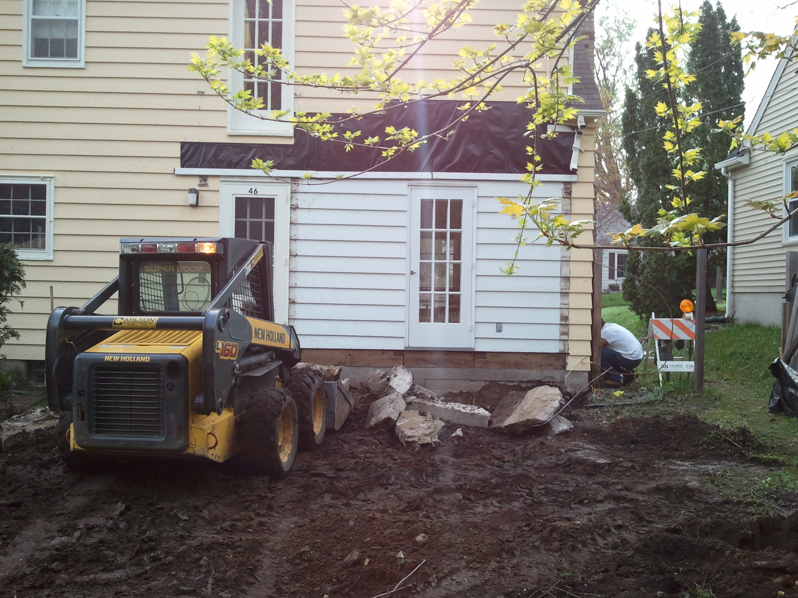 Bryn Mawr Addition Before