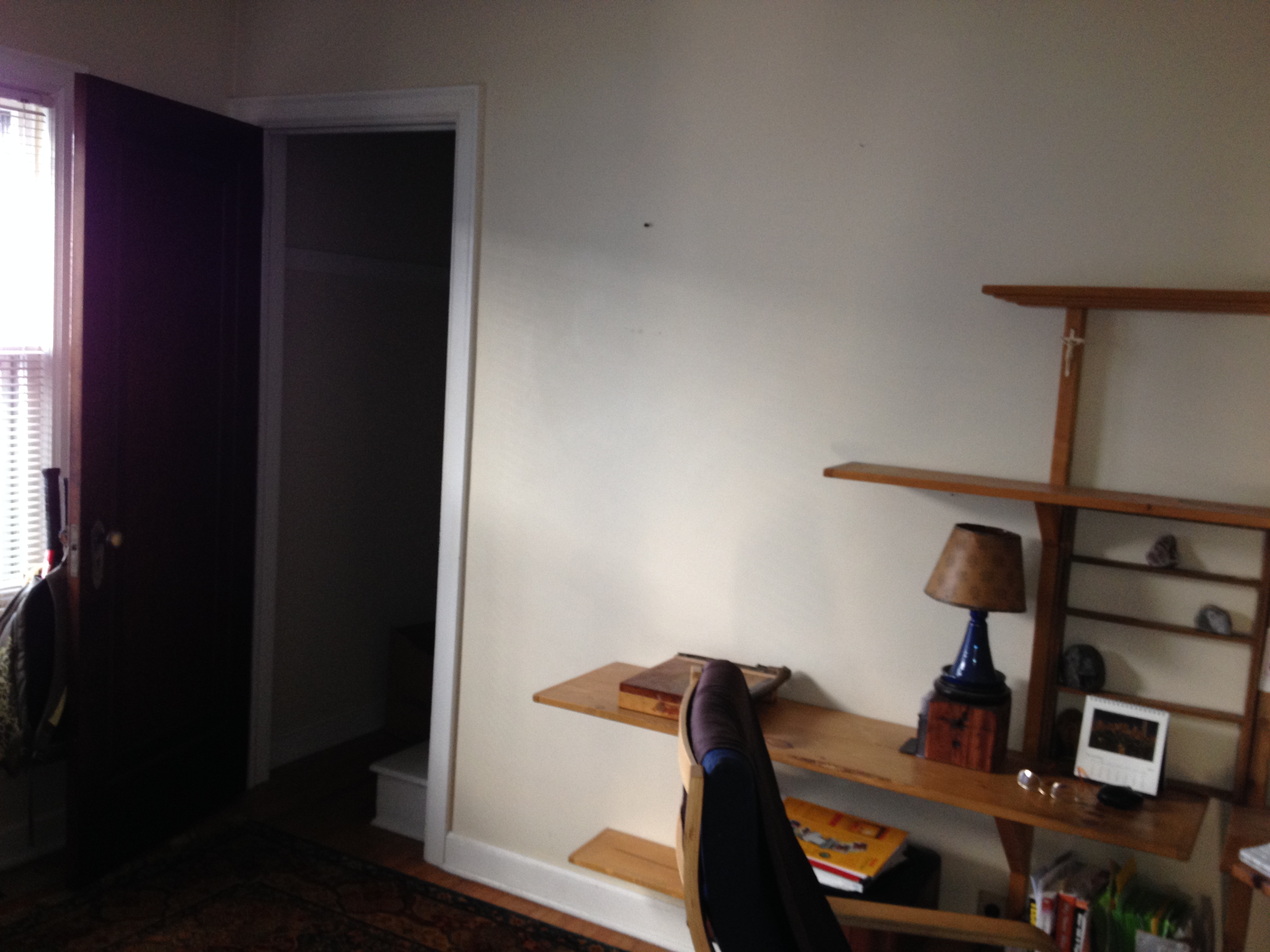 Door to upstairs before