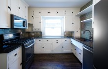 Bungalow kitchen remodel in Minneapolis.