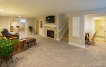 Utilizing basement square footage for a remodel and design in this Twin Cities home.