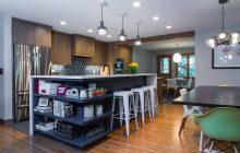Mid-century design and Minneapolis kitchen remodel.